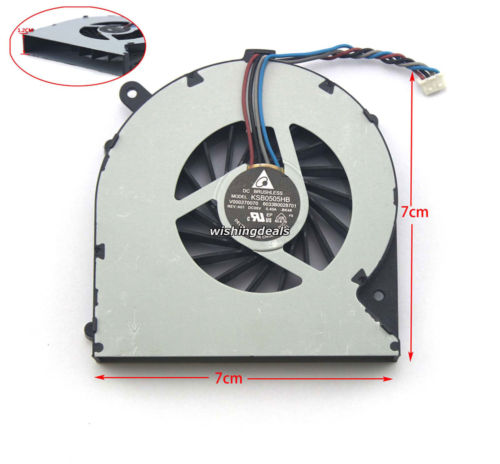 For Toshiba Satellite C850-B760 CPU Fan