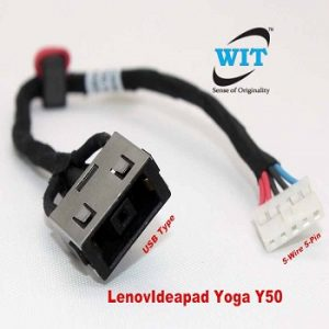 Cable Length: Buy 2 Pieces Cables /& Connectors New Laptop for Lenovo B460 B460G B465 B560 B465 V460 V460A V465 V560 DC Jack Power Cable